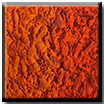 zeitgenössisches modernes Relief Orange monochrom