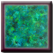 abstract colorfield blue and green