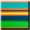 colorfield green orange and turquoise