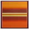 color field burgund ocker orange